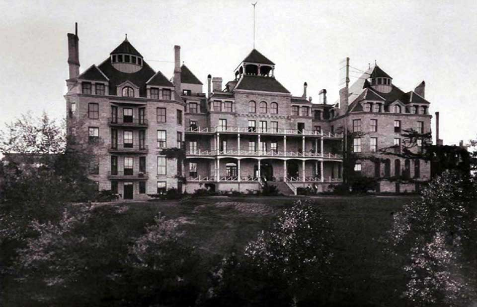 Historic photo of the Crescent Hotel