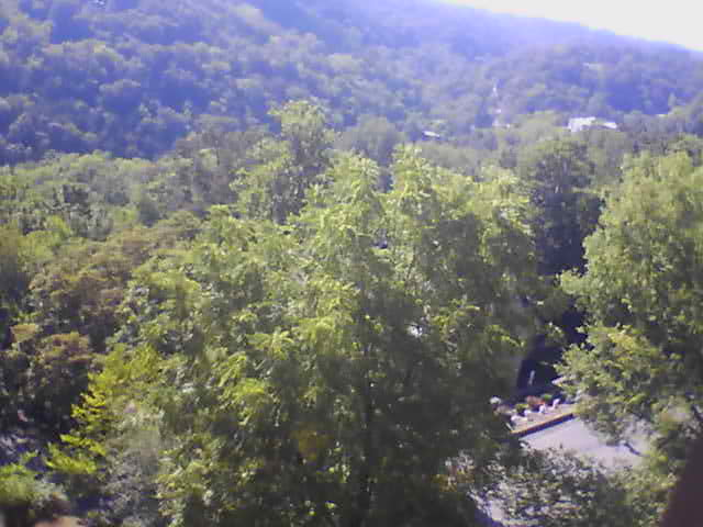 View from the Crescent Hotel webcam